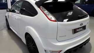Ford Focus RS In Frozen White With Only 12K Miles For Sale