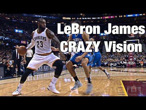 LeBron James CRAZY Wrap Around Pass!!!