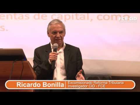 Ricardo Bonilla en Debate CID sobre la Reforma Tributaria Estructural