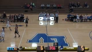 RHS Girls Basketball vs LaVille