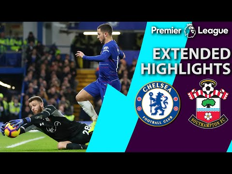 Video: Chelsea v. Southampton | PREMIER LEAGUE EXTENDED HIGHLIGHTS | 1/2/19 | NBC Sports