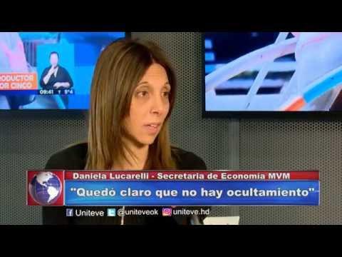Balance 2015: Daniela Lucarelli – Secretaria de Economía