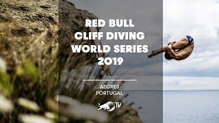 Red Bull Cliff Diving World Series 2019 LIVE   Azores, Portugal by Red Bull