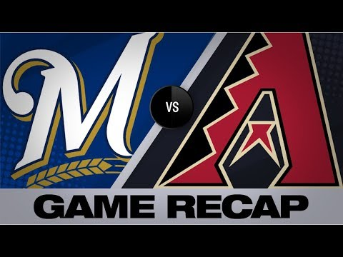 Video: Moustakas' 3-run HR leads Brewers by D-backs | Brewers-D-backs Game Highlights 7/20/19