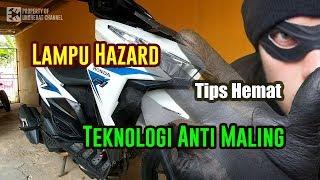 Video Easy way installing hazard on motorcycle - hazard honda vario MP3, 3GP, MP4, WEBM, AVI, FLV November 2018