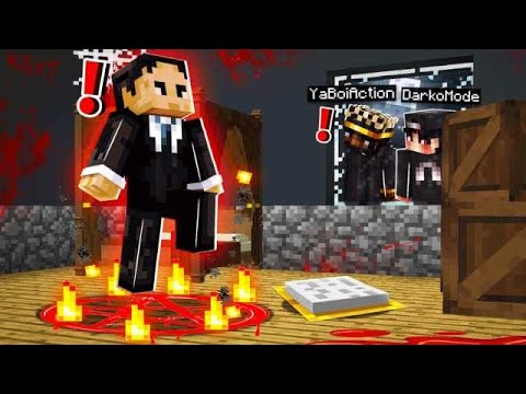 We stalked the Mayor for 24 Hours... He had a DARK Secret! (Minecraft Room 13) [7]
