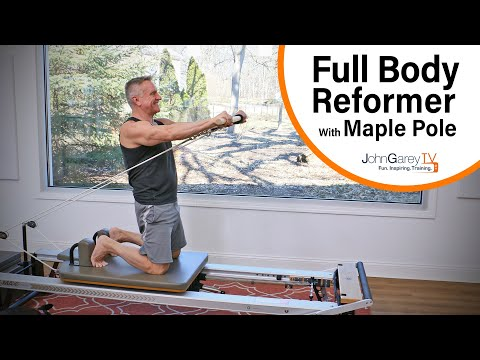 Full Body Pilates Reformer Workout With Maple Pole