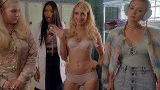 Emma Roberts   Scream Queens Hottest Scenes [1080p]
