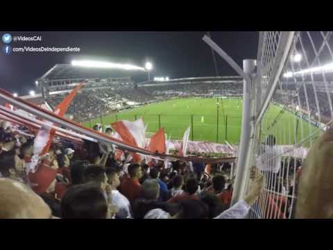 Lanús 0 - 2 Independiente | compilado de la hinchada - La Barra del Rojo - Independiente