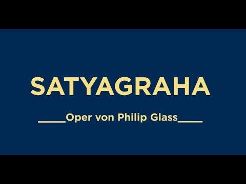,SATYAGRAHA' M.K. Gandhi in Südafrika - Oper von Philip Glass (*1937)