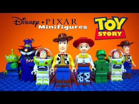 LEGO Toy Story Disney-Pixar KnockOff Minifigures includes Woody & Buzz Lightyear