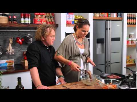 How To Prepare And Cook Kangaroo Fillets With Moroccan Carrots