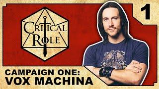 Arrival at Kraghammer  - Critical Role RPG Show: Episode 1