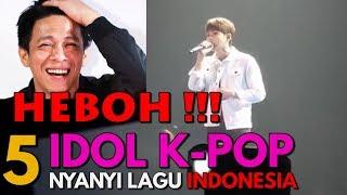 Video Bikin Histeris! Penampilan Bintang Korea Selatan Nyanyi Lagu Indonesia MP3, 3GP, MP4, WEBM, AVI, FLV Januari 2019