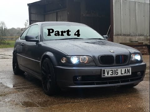 Bmw E46 328i Coupe Project (Part 4 - Lights, Tints & Springs!)