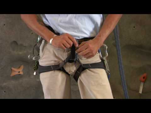 Rock Climbing : How to Use a Climbing Harness