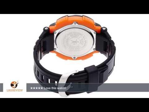 Armitron Sport Men's 40/8254ORG Black Strap Orange Accented Digital Chronograph Watch | Review/Test