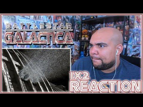 """Battlestar Galactica Reaction Season 1 Episode 2 """"Water"""" 1x2 REACTION!!!"""