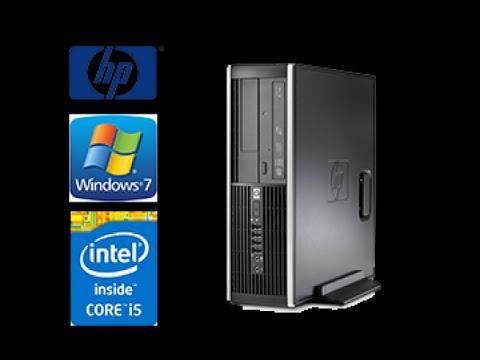 Elite 8200 HP Compaq-Refurbished computer, unboxing