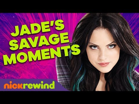 Jade West's Top 27 Most Savage Moments on Victorious 🖤 NickRewind