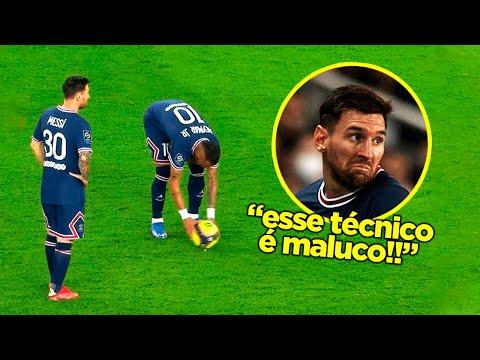 POCHETTINO VAI ACABAR COM O MESSI NO PSG!!! A PARTIDA LOUCA DE MESSI VS. LYON!!!