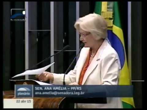 Ana Amélia critica sanção presidencial ao aumento de recursos para o fundo partidário