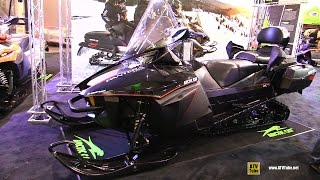 6. 2016 Arctic Cat Pantera XT Limited 7000 Sled - Walkaround - 2015 Toronto Snowmobile & ATV Show