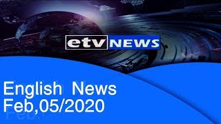 English News Feb,05/2020 |etv