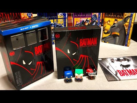 Batman the Animated Series Deluxe Limited Edition Blu-ray Unboxing