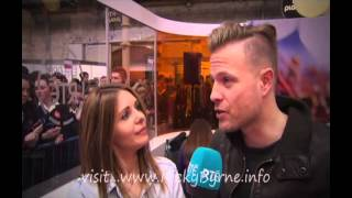 Nicky Byrne at Young Scientist RDS 09 01 15