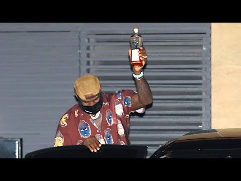 LeBron James Toasts The Paps After Being Congratulated On Championship Win