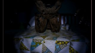 All the different parts Nightmare Freddy goes through on the bed until he is his full animatronic form, and then he kills you and his jumpscare :p