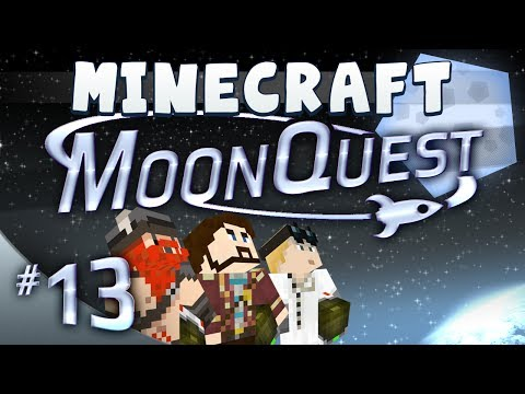 Minecraft Galacticraft – MoonQuest Episode 13 – Straight On Till Morning