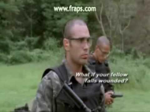 Tropa de Elite(Elite Squad)- Bandoleira, Strap-Tell him to stick the gun in his ass