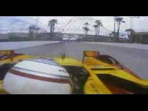 Porsche RS Spyder on-board video at Long Beach