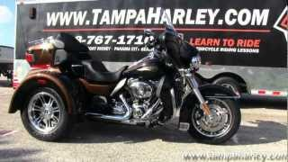 1. New 2013 Harley-Davidson FLHTCUTG Tri Glide Ultra Classic - 110th Anniversary Edition