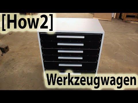 [How2] Werkstattwagen / Schubladenschrank selber bauen!
