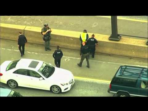 Raw Bank Robbery Chase Shuts Down Md Highway