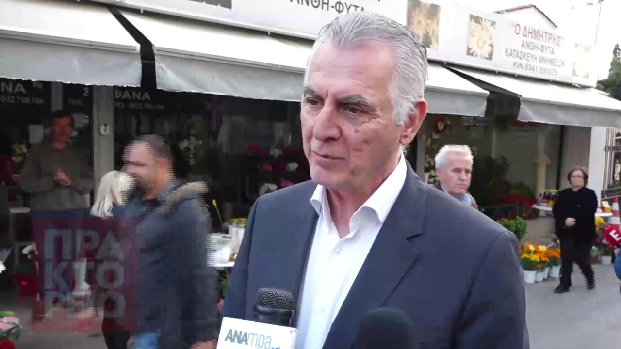 Το τελευταίο αντίο στον δημοσιογράφο Γιώργο Γεωργιάδη