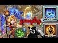 Espirita | 12 Skill | War god | Regenerate | Gameplay | Castle clash