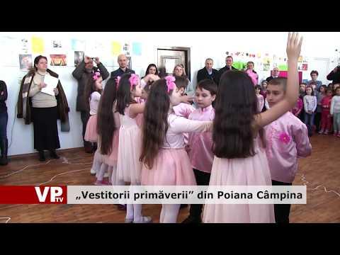 """""""Vestitorii primăverii"""" din Poiana Câmpina"""