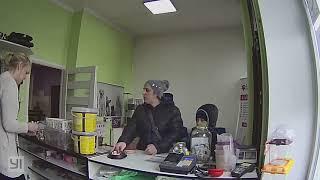 Perfidna kradzież w sklepie
