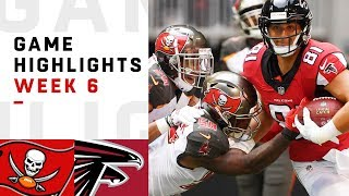 Buccaneers vs. Falcons Week 6 Highlights   NFL 2018