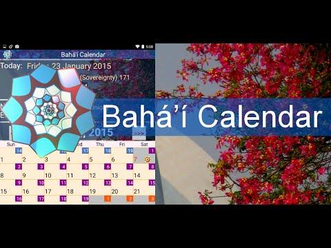 Video of Bahá'í Calendar