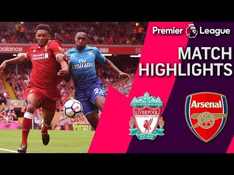 Liverpool V. Arsenal | PREMIER LEAGUE MATCH HIGHLIGHTS | NBC Sports