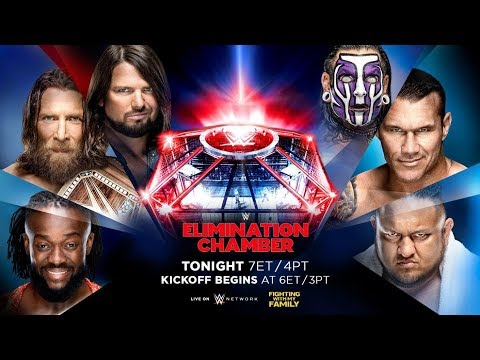 WWE Elimination Chamber 2019 Live Chat and Countdown