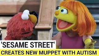 Sesame Street Creates New Muppet With Autism