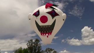 Vibrant hot air balloons take to the skies in Mexico as part of the annual Guelaguetza festival in Oaxaca. Report by Jessica Wakefield.