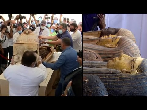 Sealed Ancient Egyptian Coffin Is Opened