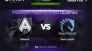 Liquid vs Alliance, game 1
